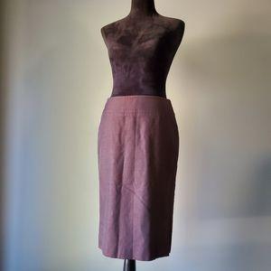 Escada Skirts - NWOT ESCADA bronze pencil skirt